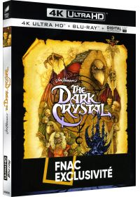 Dark Crystal (4K Ultra HD + Blu-ray + Digital UltraViolet - 35ème anniversaire - Exclusivité Fnac) - Blu-ray 4K