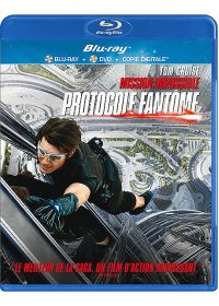 M:I-4 - Mission : Impossible - Protocole fantôme (Combo Blu-ray + DVD + Copie digitale) - Blu-ray