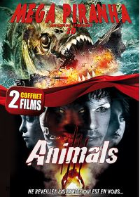 Animals + Megapiranha - DVD