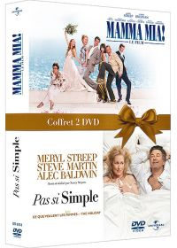 Pas si simple + Mamma Mia! (Pack) - DVD