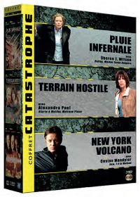 Coffret catastrophe : Pluie infernale + Terrain hostile + New York Volcano (Pack) - DVD