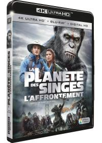 La Planète des Singes : L'Affrontement (4K Ultra HD + Blu-ray + Digital HD) - 4K UHD