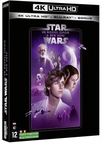 Star Wars - Episode IV : Un nouvel espoir (4K Ultra HD + Blu-ray + Blu-ray Bonus) - 4K UHD