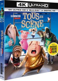 Tous en scène (4K Ultra HD + Blu-ray + Digital UltraViolet) - Blu-ray 4K