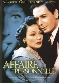 Affaire personnelle - DVD