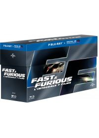 Fast and Furious - L'intégrale 7 films (Blu-ray + Copie digitale) - Blu-ray
