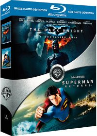 Batman - The Dark Knight, le Chevalier Noir + Superman Returns (Pack) - Blu-ray