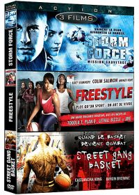 Action n° 2 - Coffret 3 films : Storm Force - Mission sauvetage + Freestyle + Street Gang Basket (Pack) - DVD