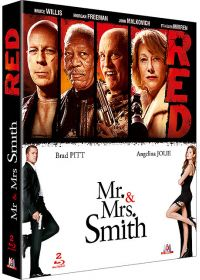 RED + Mr. & Mrs. Smith (Pack) - Blu-ray