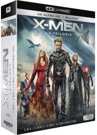 X-Men - La Trilogie : X-Men + X-Men 2 + X-Men : L'affrontement final (4K Ultra HD + Blu-ray) - 4K UHD