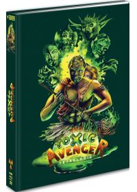 Toxic Avenger : Tétralogie (Édition Mediabook Collector Blu-ray + DVD) - Blu-ray