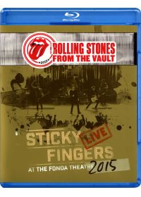The Rolling Stones - From The Vault - Sticky Fingers Live At The Fonda Theatre 2015 - Blu-ray