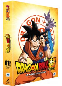 Dragon Ball Super - Saga 01 - Épisodes 01-18 : La Bataille des Dieux - Blu-ray
