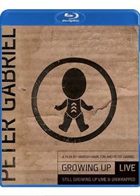 Peter Gabriel : Growing Up Live + Still Growing Up Live & Unwrapped (Combo Blu-ray + DVD) - Blu-ray