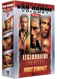Coffret Van Damme - Vol. 1 (3 DVD) (Pack) - DVD