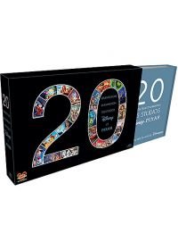 20 grands films d'animation des studios Disney et Pixar - Coffret (Pack) - Blu-ray