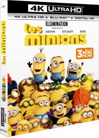 Les Minions (4K Ultra HD + Blu-ray + Digital HD) - Blu-ray 4K