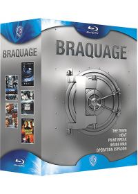 Braquage - Coffret - The Town + Heat + Point Break + Inside Man + Opération Espadon (Édition Limitée) - Blu-ray