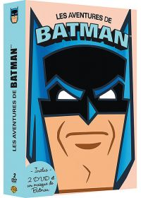 Coffret 2 DVD + 1 masque - Les aventures de Batman (Pack) - DVD