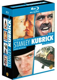 Stanley Kubrick - Coffret - Eyes Wide Shut + Shining + Orange mécanique + Full Metal Jacket - Blu-ray