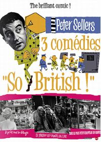 "Peter Sellers : 3 comédies ""So British!"" (Pack) - DVD"
