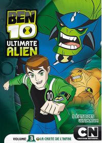 Ben 10 Ultimate Alien - Volume 3 - La carte de l'infini - DVD