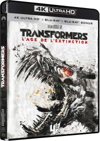 Transformers : l'âge de l'extinction (4K Ultra HD + Blu-ray) - Blu-ray 4K