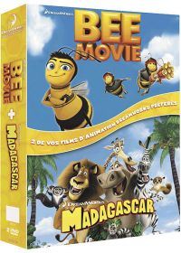 Bee Movie - Drôle d'abeille + Madagascar (Pack) - DVD
