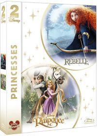 Princesses - Rebelle + Raiponce (Pack) - Blu-ray