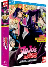 JoJo's Bizarre Adventure - Saison 3 : Diamond is Unbreakable, Box 1/2 - Blu-ray