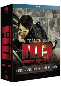 Mission : Impossible - L'intégrale des 4 films (Pack) - Blu-ray
