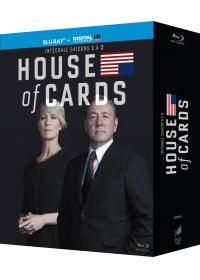 House of Cards - Intégrale saisons 1-2-3 (Blu-ray + Copie digitale) - Blu-ray