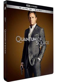 Quantum of Solace (4K Ultra HD + Blu-ray - Édition boîtier SteelBook) - 4K UHD