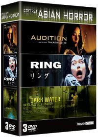 Coffret Asian Horror - Audition + Ring + Dark Water - DVD