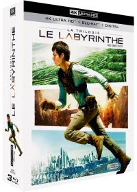 Le Labyrinthe : La Trilogie (4K Ultra HD + Blu-ray + Digital HD) - Blu-ray 4K