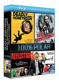 Coffret 100% Polar : Deadly Honeymoon + Sous surveillance - Hidden Camera + Reflections (Pack) - Blu-ray