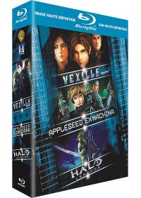 Vexille + Appleseed Ex Machina + Halo Legends (Pack) - Blu-ray