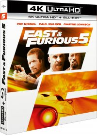 Fast & Furious 5 (4K Ultra HD + Blu-ray) - 4K UHD