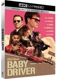 Baby Driver (4K Ultra HD + Blu-ray + Digital UltraViolet) - 4K UHD