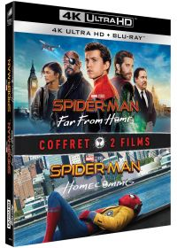 Spider-Man : Homecoming + Far from Home (4K Ultra HD + Blu-ray) - 4K UHD