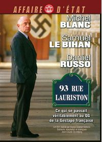 93 rue Lauriston - DVD