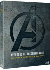 Avengers le rassemblement - Collection intégrale 4 films - Blu-ray