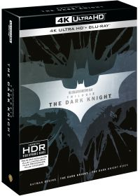 The Dark Knight - La trilogie (4K Ultra HD + Blu-ray) - Blu-ray 4K