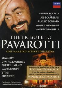 Tribute to Pavarotti - DVD