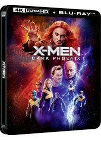 X-Men : Dark Phoenix (4K Ultra HD + Blu-ray - Édition boîtier SteelBook) - 4K UHD