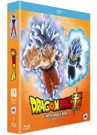 Dragon Ball Super - L'intégrale box 3 - Épisodes 77-131 - Blu-ray