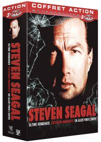 Coffret Steven Seagal - Ultime vengeance + Un aller pour l'enfer + Explosion imminente (Pack) - DVD