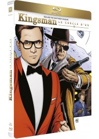 Kingsman 2 : Le Cercle d'Or (Édition SteelBook Blu-ray + Digital HD) - Blu-ray