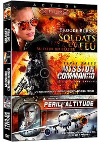 Action 3 - Coffret 3 films : Soldats du feu + Mission Commando + Péril en altitude (Pack) - DVD