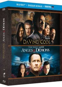 Anges & démons + Da Vinci Code (Édition Anniversaire - Blu-ray + Copie digitale) - Blu-ray
